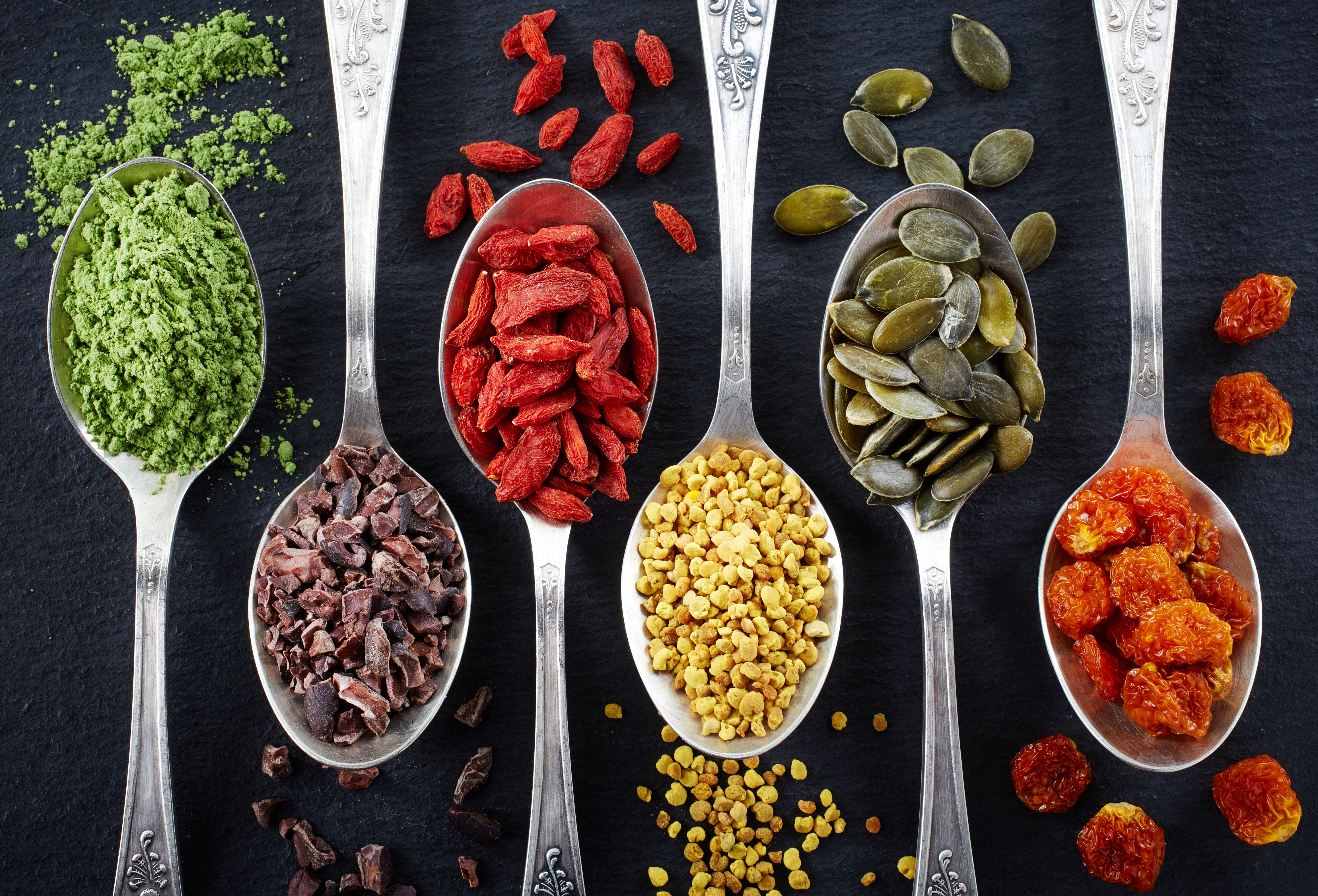 STAY YOUNG WITH SUPERFOODS